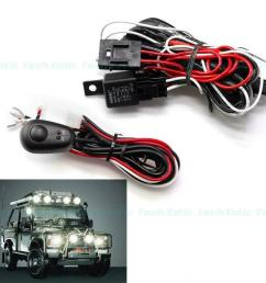 details about 12v 40amp universal led light bar wiring harness relay on off switch cable kit [ 1000 x 1000 Pixel ]