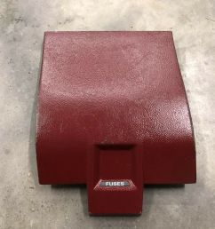 details about 87 89 mustang foxbody gt lx ssp 5 0 oem 87 89 fuse box cover red [ 1000 x 1000 Pixel ]