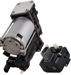 details about for bmw x5 e70 x6 all models air suspension compressor pump w relay 37206799419 [ 1000 x 1000 Pixel ]