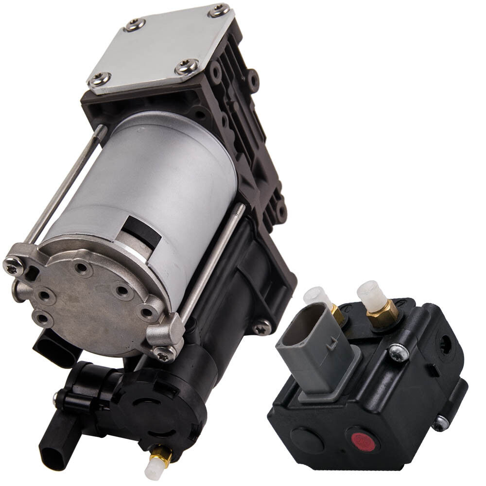 medium resolution of details about for bmw x5 e70 x6 all models air suspension compressor pump w relay 37206799419