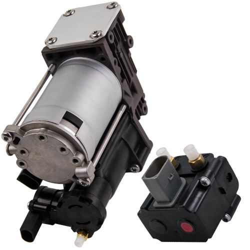 small resolution of details about for bmw x5 e70 x6 all models air suspension compressor pump w relay 37206799419