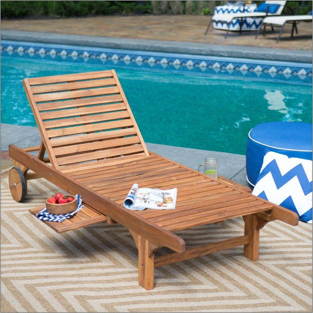 Pool Deck Chairs Wooden Pool Lounge Chairs