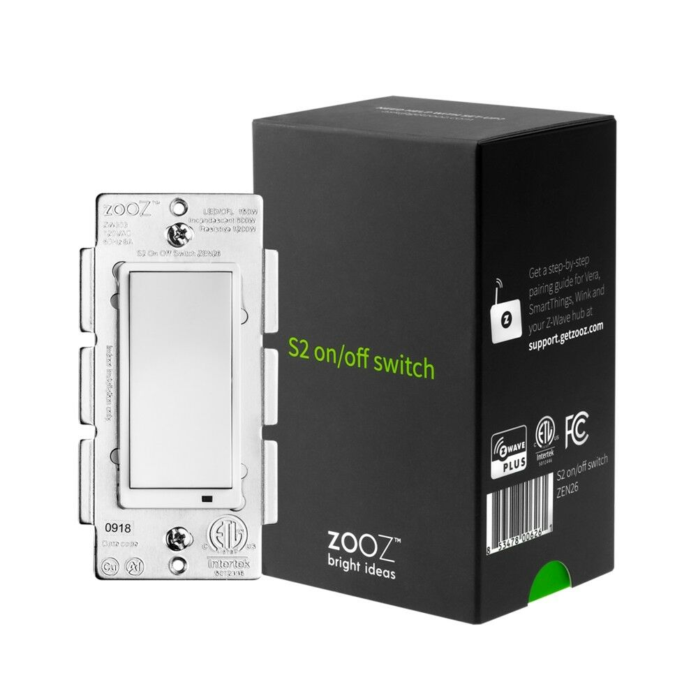 hight resolution of details about zooz z wave plus s2 on off switch zen26 with simple direct 3 way 4 way