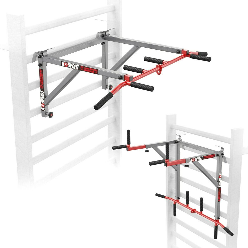 medium resolution of details about swedish wall ladder pull up bar dip bar 2in1 home gym