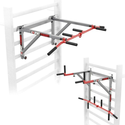 small resolution of details about swedish wall ladder pull up bar dip bar 2in1 home gym