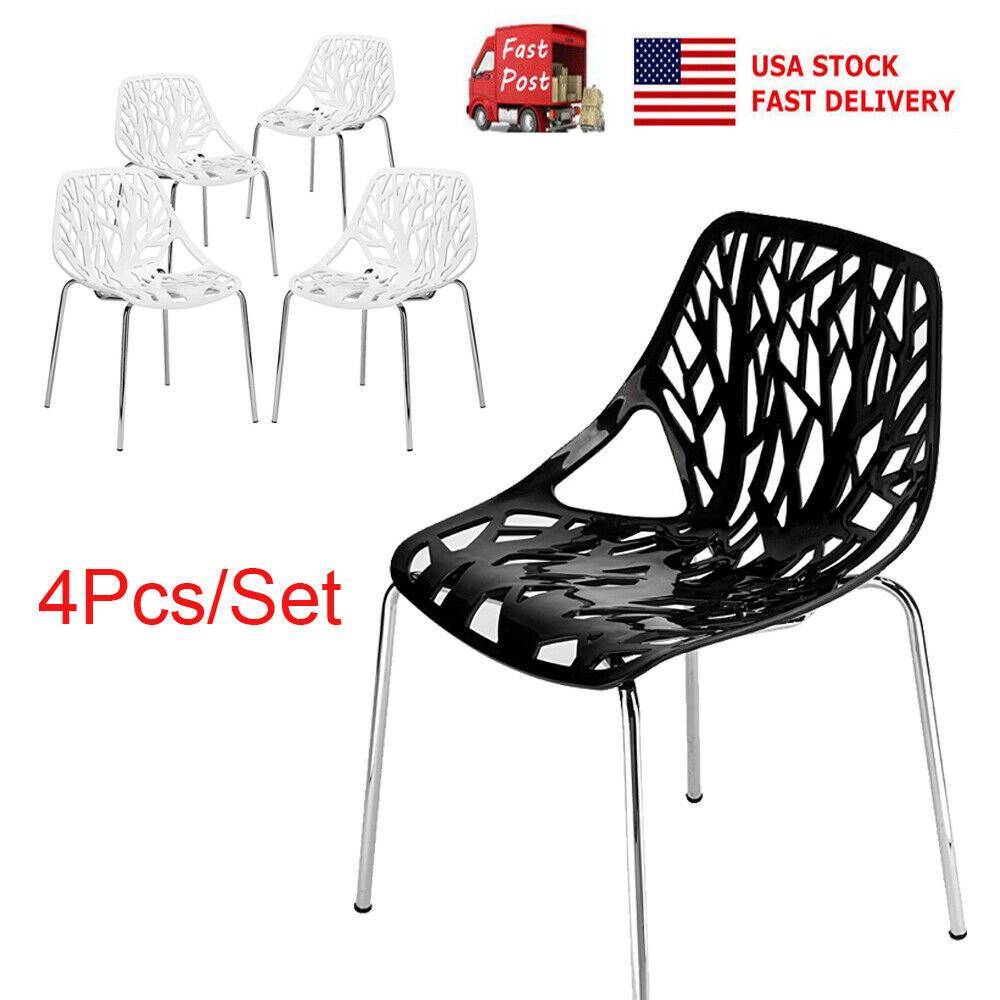 Bird Nest Chair Set Of 4 Dining Chair Modern Style Bird Nest Chairs Office Lounge Cafe Chair New Ebay