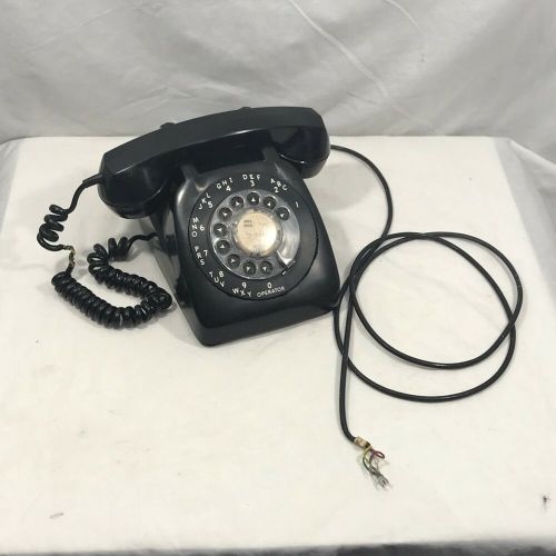 small resolution of details about vintage 1960 s black tabletop desktop rotary telephone