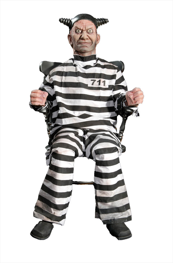 Buzz Electric Chair Animated Prop Lifesize Prisoner