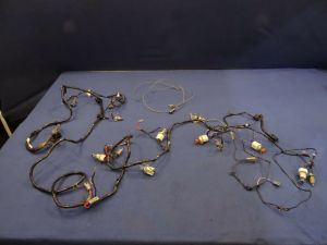 87 88 FORD MUSTANG BODY WIRING HARNESS 50 302 ENGINE lx