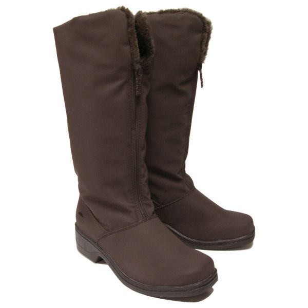 Womens Totes Cynthia Waterproof Zip Winter Boots Brown