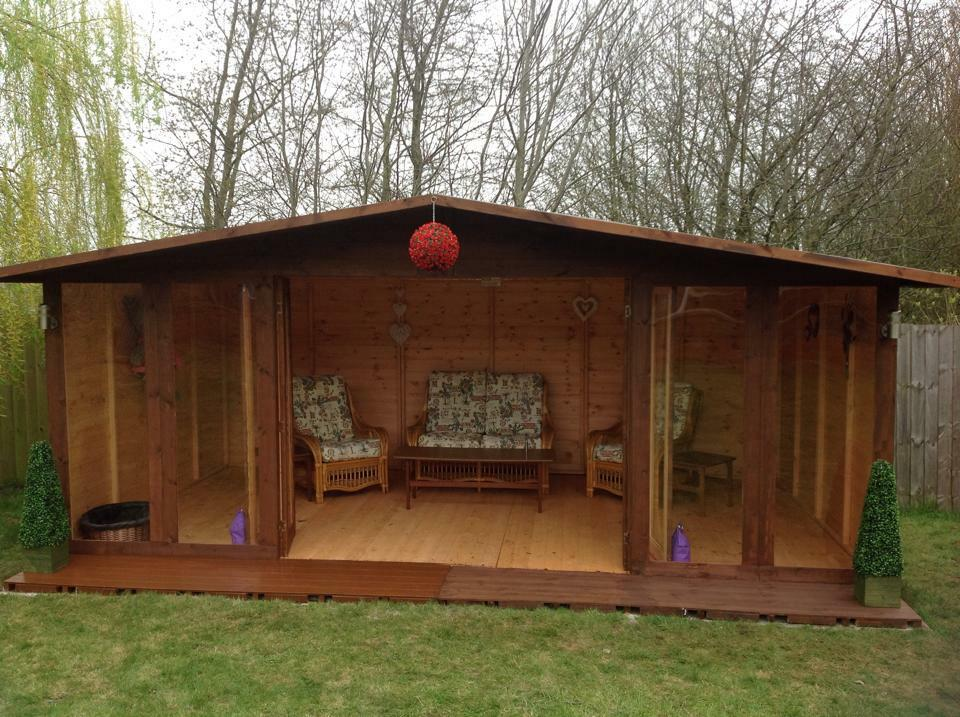 18X10 THE CHESTER SUMMER HOUSE EBay