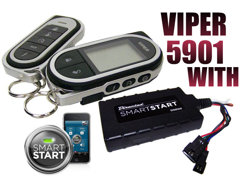 Viper With Smart Start Module Lc3 Sst 2 Way Security