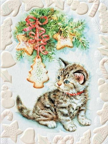 Pumpernickel Press Kittenquots Discovery CHRISTMAS CARDS USA