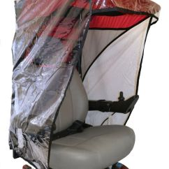 Wheelchair Ebay Morris Chair For Sale Diestco Electric Or Scooter Sun Protection With Wind & Rain Guard |