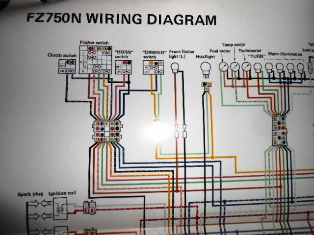 Details About Yamaha Oem Factory Color Wiring Diagram Schematic 1984