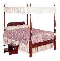 Cream Lace Bed Canopy Top - Twin and Full sizes | eBay