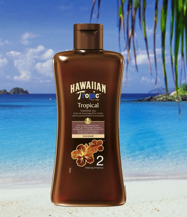 Tanning Lotion Hawaiian Tropic Spf 2 Tropical Tan Oil Sun