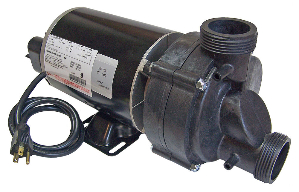 Bathtub Pump 34 Hp With Air Switch And Cord 115volts