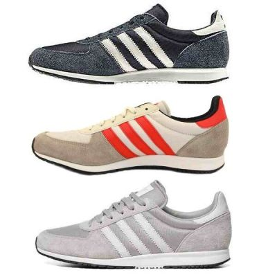 Adidas Mens Adistar Racer Shoes Trainers Blue / Silver ...