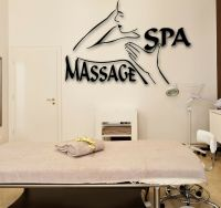 Wall Stickers Vinyl Decal Spa Massage Beauty Salon Relax