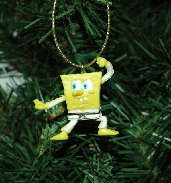 Spongebob Christmas Ornament