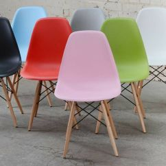Pink Panton Chair Folding Chairs Argos Ireland 4 X Dsw Eames Style Dining White Black Red Blue Green Grey Yellow | Ebay