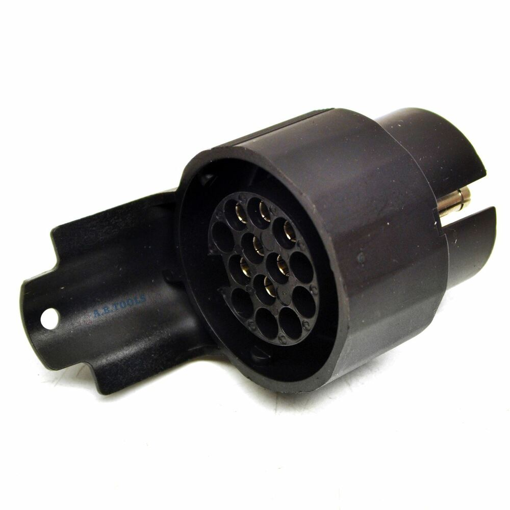 medium resolution of details about 13 pin trailer plug to 7 pin car socket wiring adapter tr139