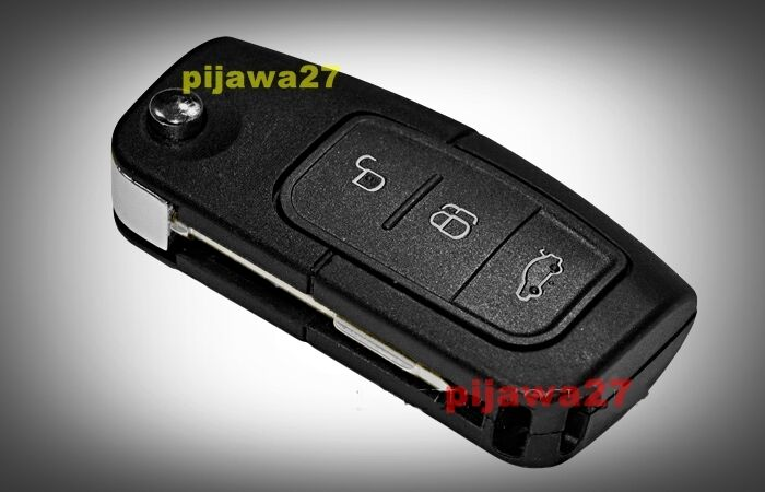 Ford 3 Button Transit Connect Remote Fob Key Case Free Battery Ebay