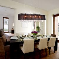 Modern Crystal Chandelier Ceiling Lamp Pendant Light