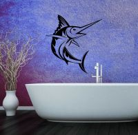 Wall Stickers Vinyl Decal Sword Fish Ocean Sea for ...