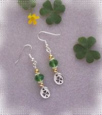 Bit O' Luck ~ Beaded Earring Jewelry Making Step by Step ...