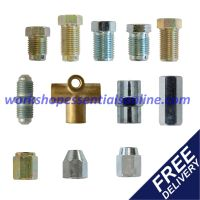 Brake Pipe Unions-Fittings-Ends Sizes for all Cars Metric ...