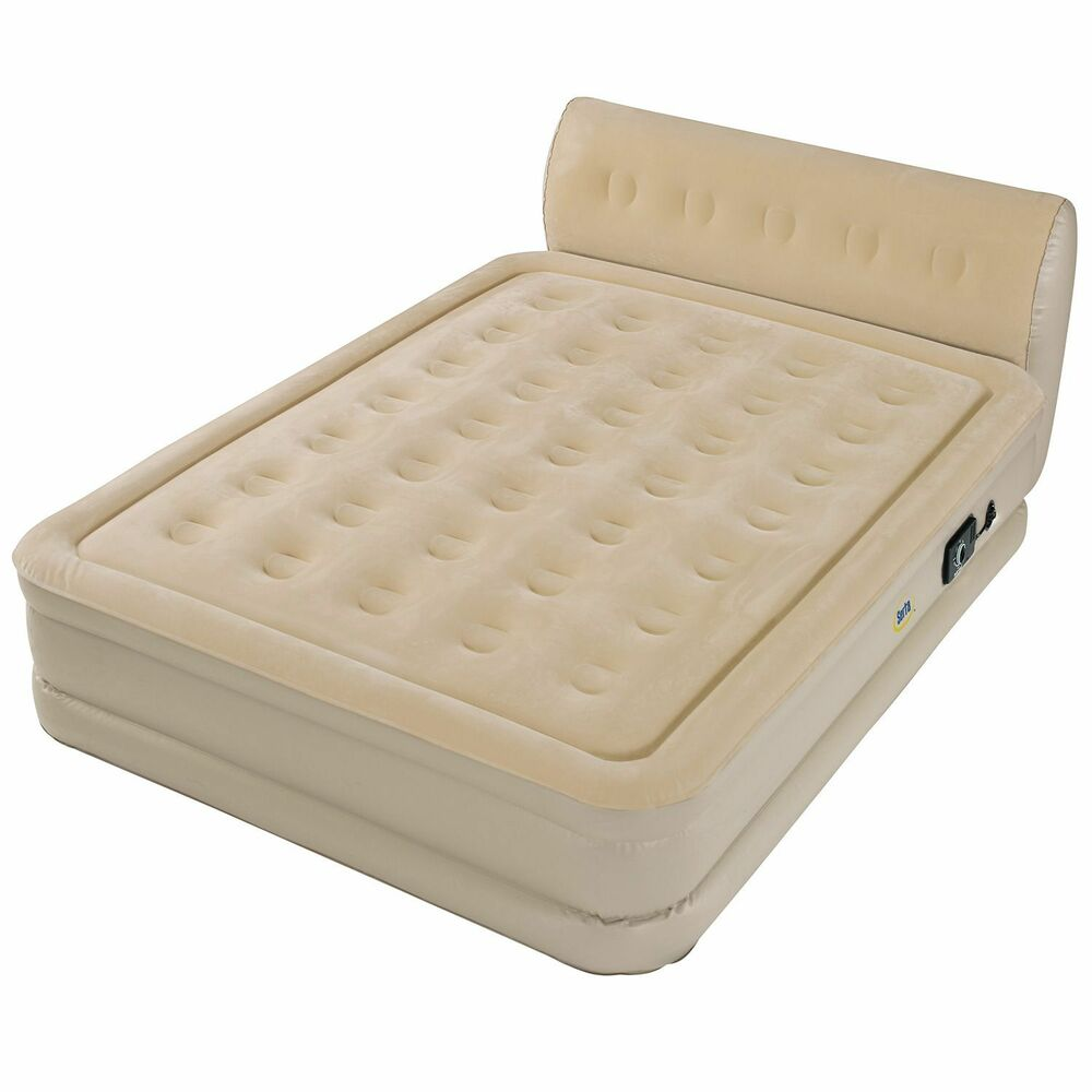 Serta Perfect Sleeper Inflatable Queen Size Mattress Bed