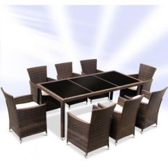 Rattan Patio Chairs Uk Drafting Table Desk Garden Furniture Dining And 8 Set Outdoor | Ebay