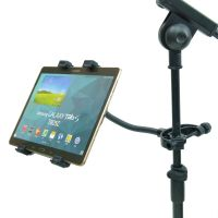 Music Microphone Stand Tablet Holder for Samsung Galaxy ...