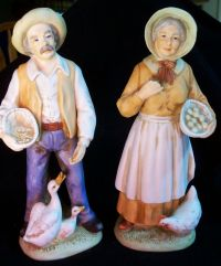 Vintage Home Interiors Collectible Figurines -1426 Old Man ...