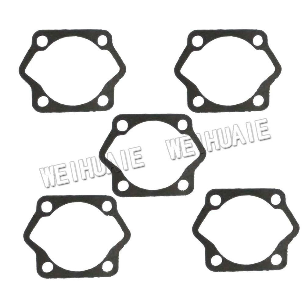 5pcx Cylinder Base Bottom Gasket for 2 Stroke 80cc Motor