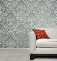 Abundance Damask Stencil - DIY Reusable Wall Stencils ...