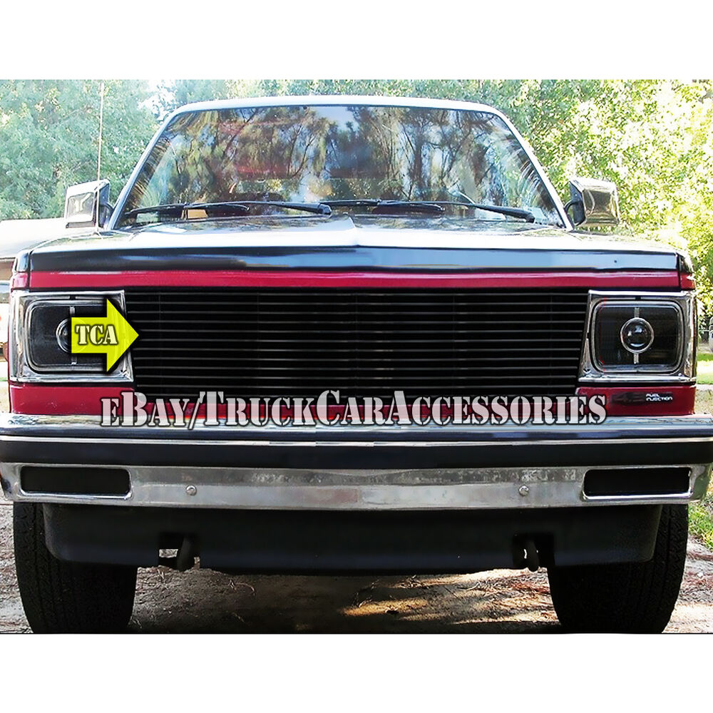 hight resolution of details about 82 90 chevy s10 pickup blazer gmc s15 pick up jimmy black grille replacement 1pc