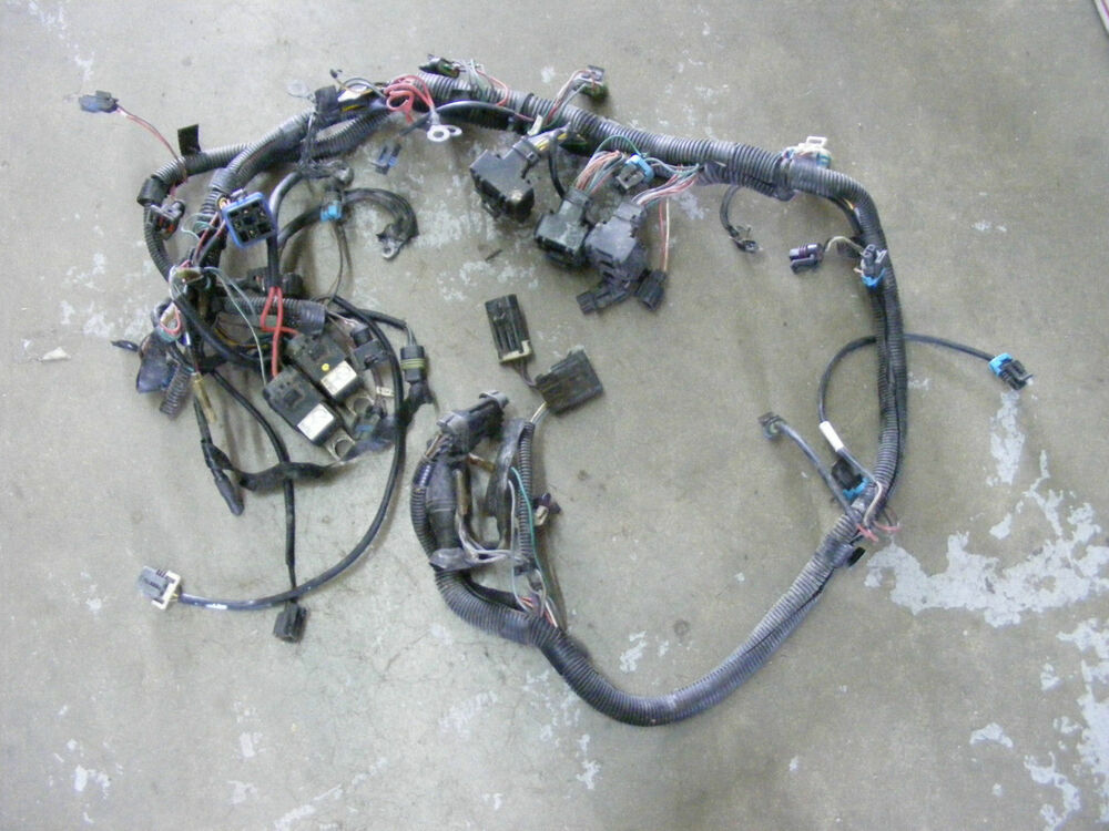 75 Hp Wiring Harness Also Mercury 75 Hp Outboard Motor Wiring Diagram