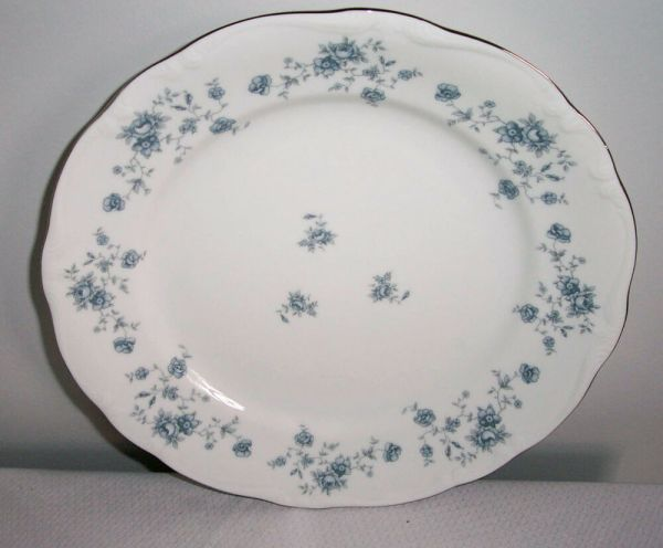 "Blue Garland Johann Haviland 10"" Dinner Plate Bavarian"