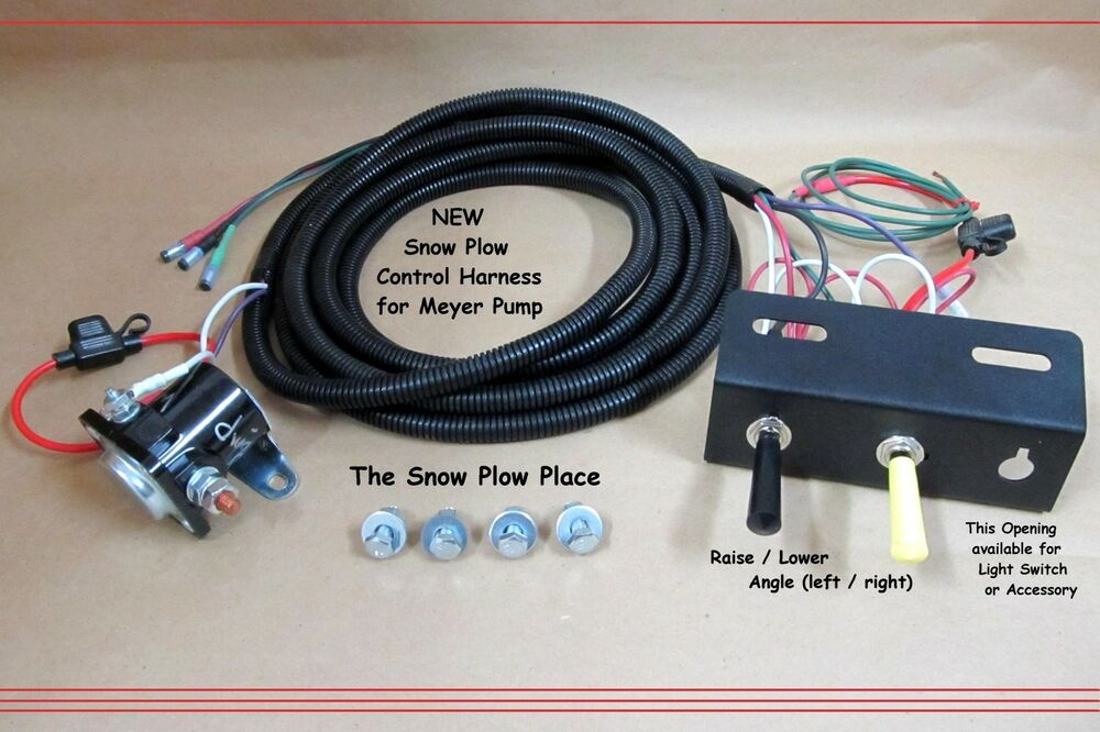 Can Wiring Diagram E60 Snow Plow Control Wire Harness Raise Lower Angle For