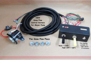 Snow Plow Control Wire Harness ( Raise, Lower, Angle ) for