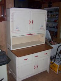 Vintage Early 1900's SELLERS Kitchen Hoosier Cabinet with