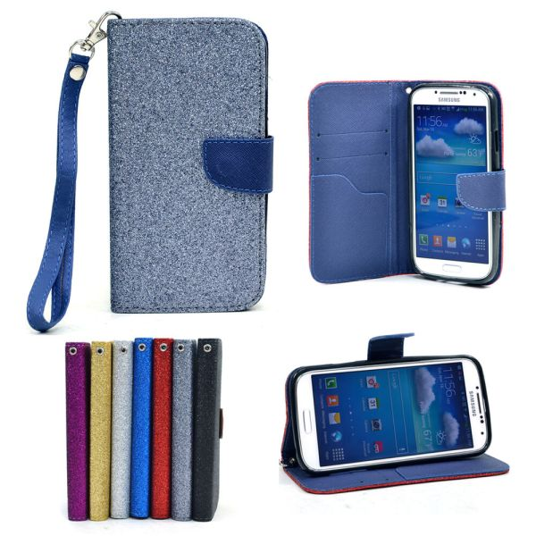 Magnetic Snap Cell Phone Case Cover Card Holder Wristlet