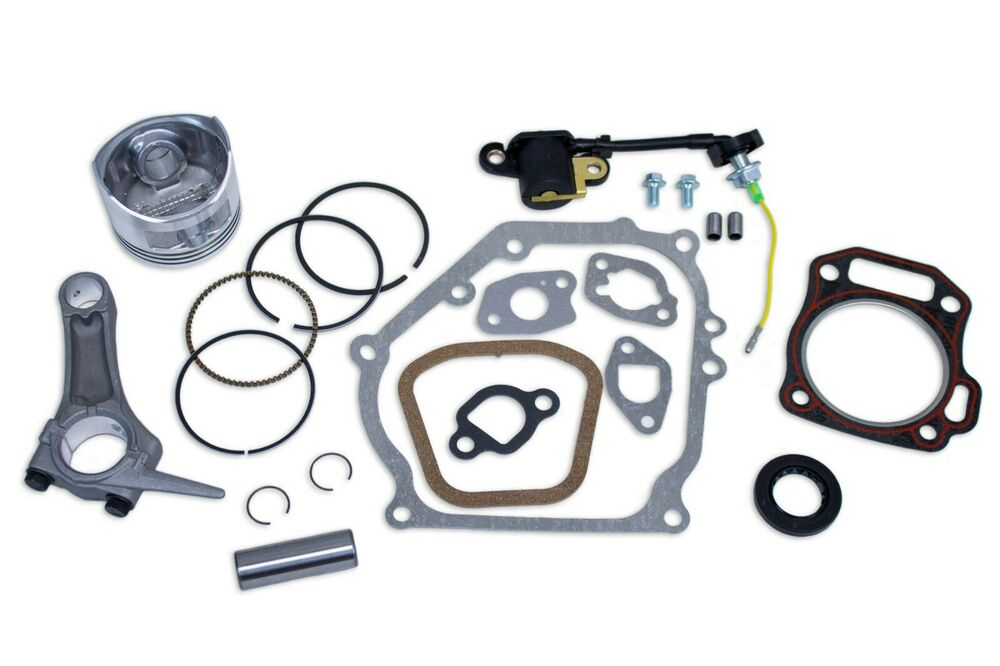 GX160 5.5HP PISTON KIT FOR HONDA PIN RINGS CONNECTING ROD