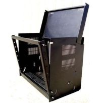 "Wall Mount Drop Front 19"" Network IT Data Cabinet Rack 12 ..."