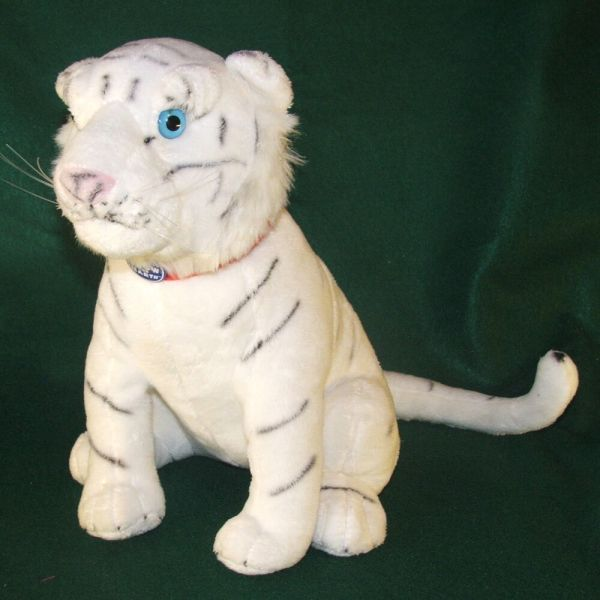 White Tiger Ringling Bros. Greatest Show Earth Plush