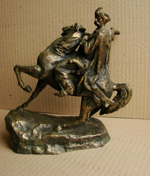 Russian Bronze Sculpture
