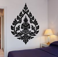 Wall Decal Buddha Buddhism Indian Zen Meditation Decor